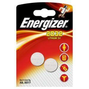 Energizer CR2032 Lithium tuplapakkaus