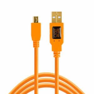 Tether Tools USB 2.0 Mini-B kaapeli 4,6m