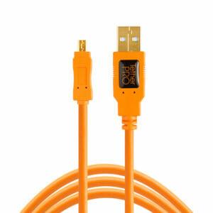 TetherPro USB 2.0 Mini-B 8-Pin Cable