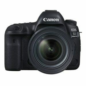 Canon 5d mark iv L-sarjan linssit toimivat täysin yhteen