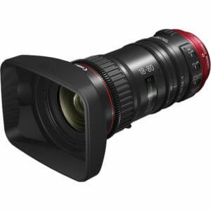Canon CN-E18-80mm T4.4 front