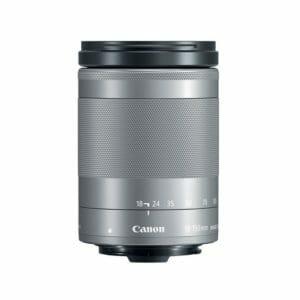 Canon EF-M 18-150mm f/3.5-6.3 IS STM hopea objektiivi