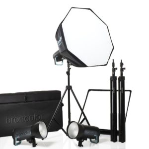 Broncolor Siros 800 S Pro Kit 3 PW Salamasetti