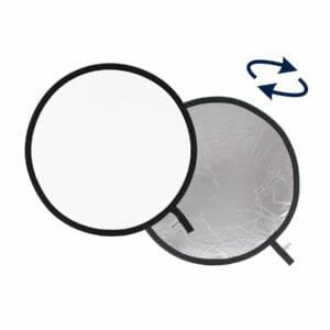 Lastolite Collapsible Reflector 1.2m Silver / White