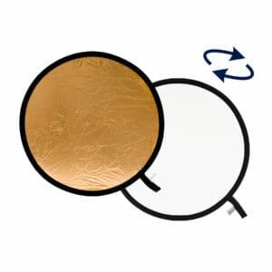 Lastolite Collapsible Reflector 95cm Gold / White