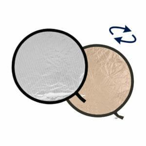Lastolite Collapsible Reflector 95cm Sunlite / Soft Silver