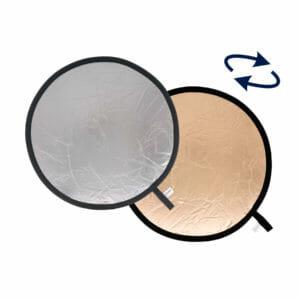 Lastolite Collapsible Reflector 1.2m Sunfire / Silver