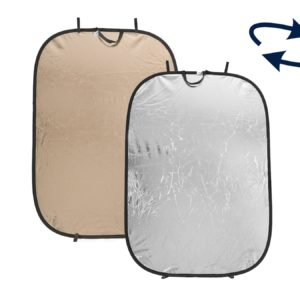 Lastolite 1,8m x 1,2m, Sunfire / Silver heijastin