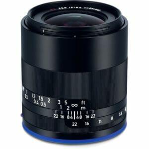 Zeiss Loxia 21mm f/2.8 Sony E-mount objektiivi demolaite